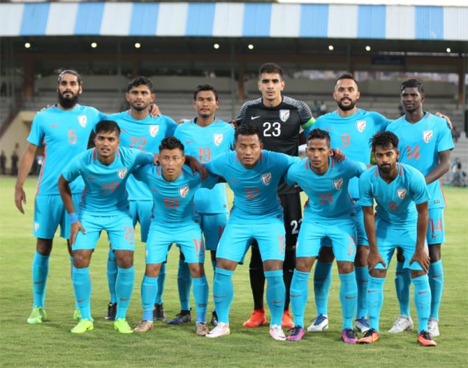India asian games football
