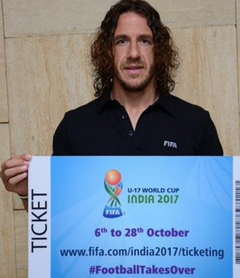 Rediff Sports - Cricket, Indian hockey, Tennis, Football, Chess, Golf - WATCH: Carles Puyol plays football at Metro Station