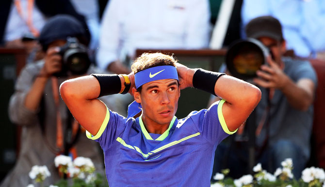 Rafael Nadal has dropped only 29 games en route the final