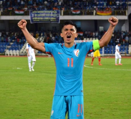 Rediff Sports - Cricket, Indian hockey, Tennis, Football, Chess, Golf - Believe it or not: Chhetri's strike rate better than Ronaldo, Messi