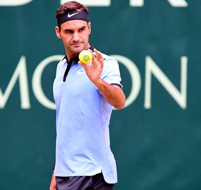Roger Federer: Tennis Roundup: Federer Reaches 11th Halle Final; Kvitova