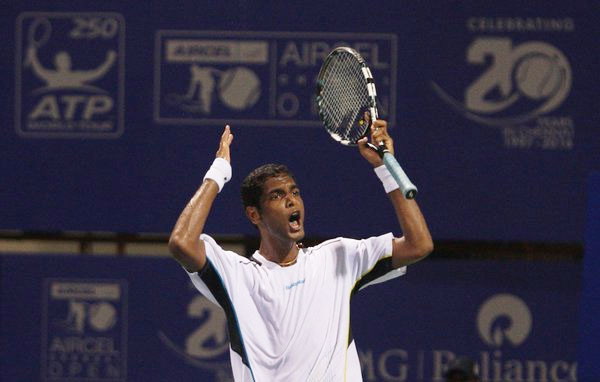 Ramkumar Ramanathan's served 10 aces in his stunning win over Dominic Thiem