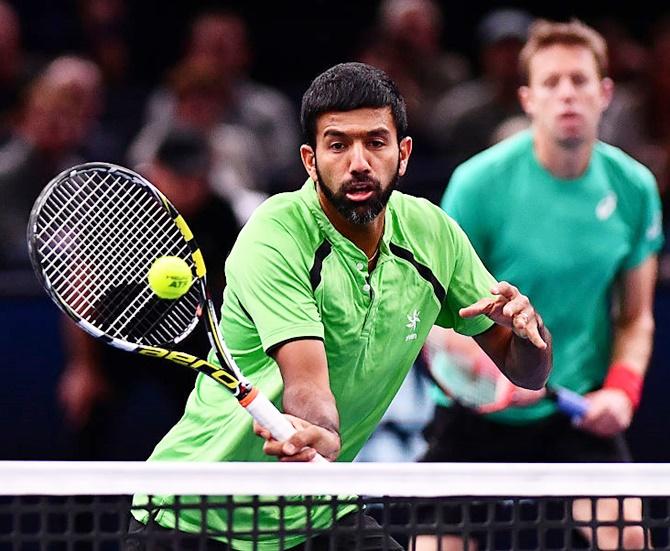 Rediff Sports - Cricket, Indian hockey, Tennis, Football, Chess, Golf - Dubai Open: Bopanna-Matkowski lose in final