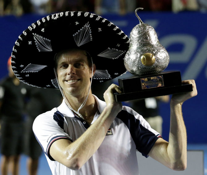 Rediff Sports - Cricket, Indian hockey, Tennis, Football, Chess, Golf - Querrey thrashes Nadal in Mexico Open final