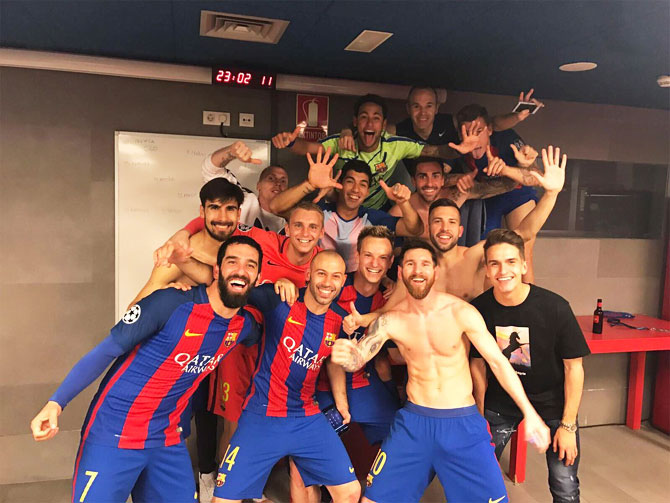 Barca's night of miracle will prompt lots of love making ...