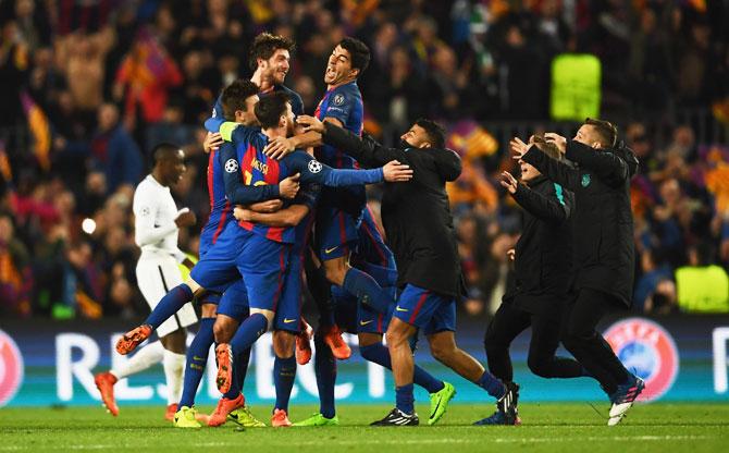Rediff Sports - Cricket, Indian hockey, Tennis, Football, Chess, Golf - The GREATEST comebacks in UEFA Champions League history