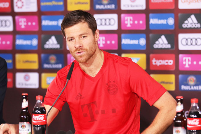 Xabi Alonso is known for his passing game, vision and powerful shot as much as for his work ethic