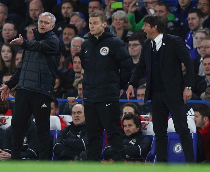 Rediff Sports - Cricket, Indian hockey, Tennis, Football, Chess, Golf - I'm still Chelsea's number one, says beaten Mourinho