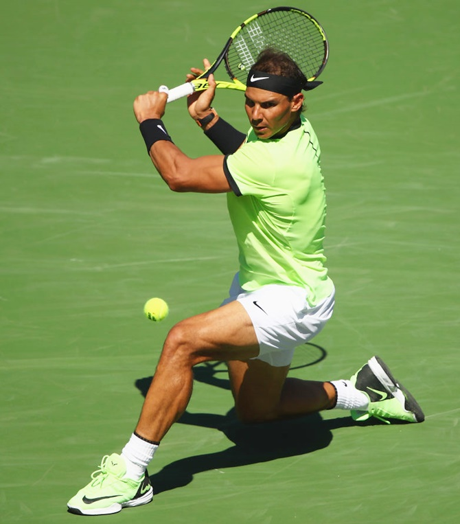 Rediff Sports - Cricket, Indian hockey, Tennis, Football, Chess, Golf - Indian Wells: Nadal, Federer set up yet another mouth-watering clash