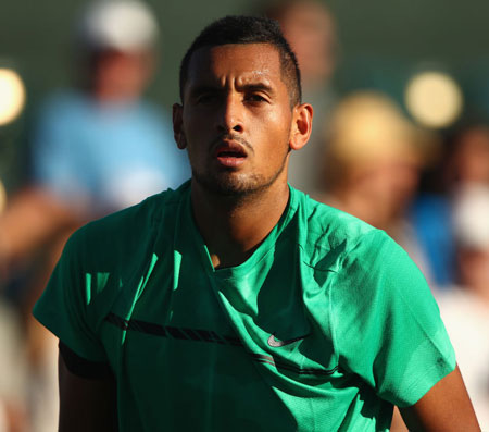 Rediff Sports - Cricket, Indian hockey, Tennis, Football, Chess, Golf - Kyrgios pulls out of quarters clash with Federer