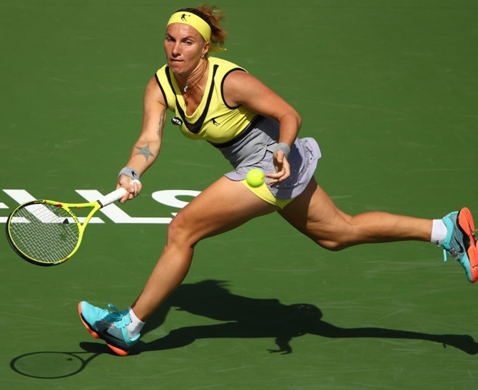 Rediff Sports - Cricket, Indian hockey, Tennis, Football, Chess, Golf - Indian Wells: Kuznetsova, Vesnina set up all-Russian final