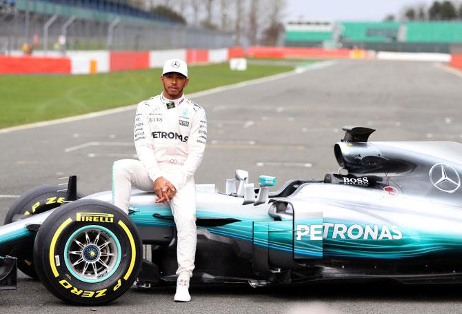 Fastest Car In The World 2017 >> F1: Hamilton still the man to beat in 2017 - Rediff.com Sports