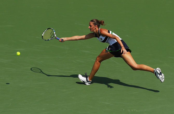 Rediff Sports - Cricket, Indian hockey, Tennis, Football, Chess, Golf - Miami Open: Pliskova, Cibulkova cruise into third around