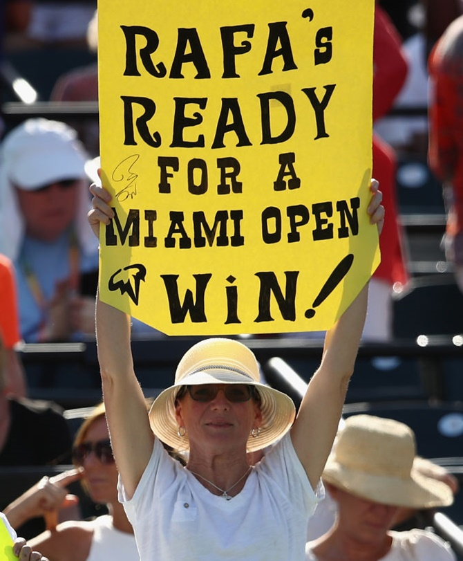 Rediff Sports - Cricket, Indian hockey, Tennis, Football, Chess, Golf - Miami Open: Nadal beats Sock in quarters, Nishikori out