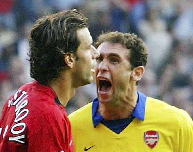 FIVE memorable Arsenal v Manchester United clashes