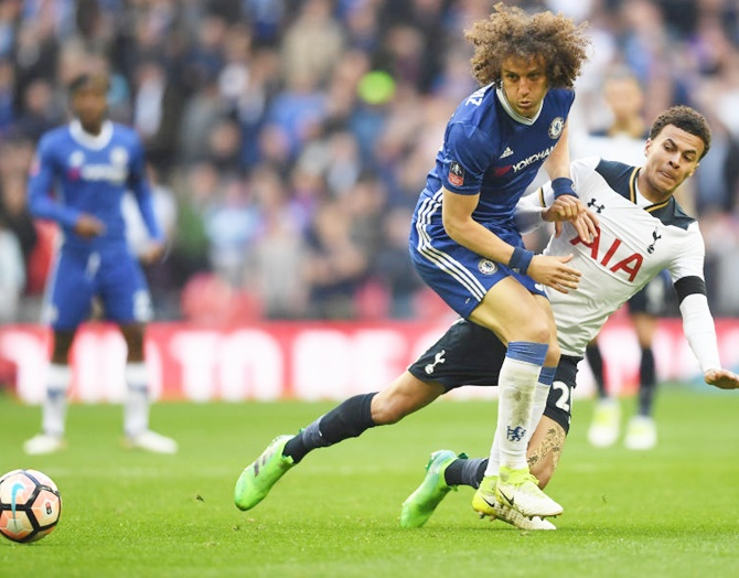 How Luiz has become Chelsea's defensive rock