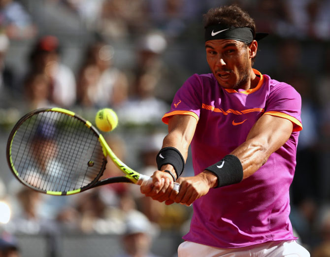 Rediff Sports - Cricket, Indian hockey, Tennis, Football, Chess, Golf - US Open: Nadal could face Federer in semis, Sharapova draws Halep