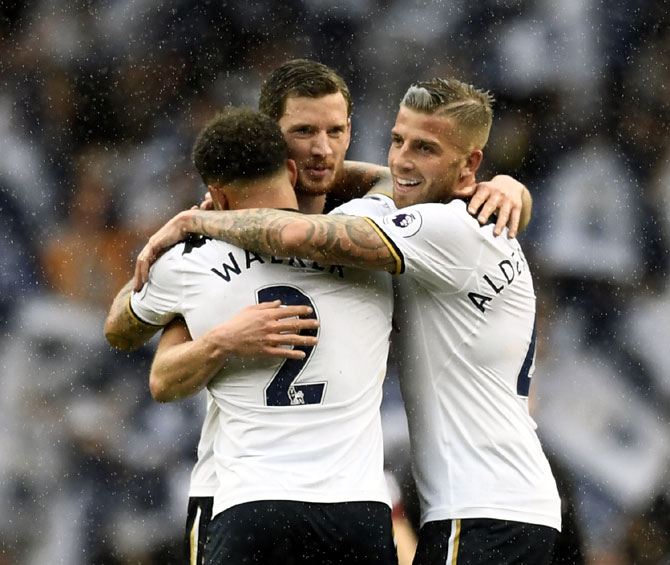 Tottenham sign off from the Lane in a blaze of glory