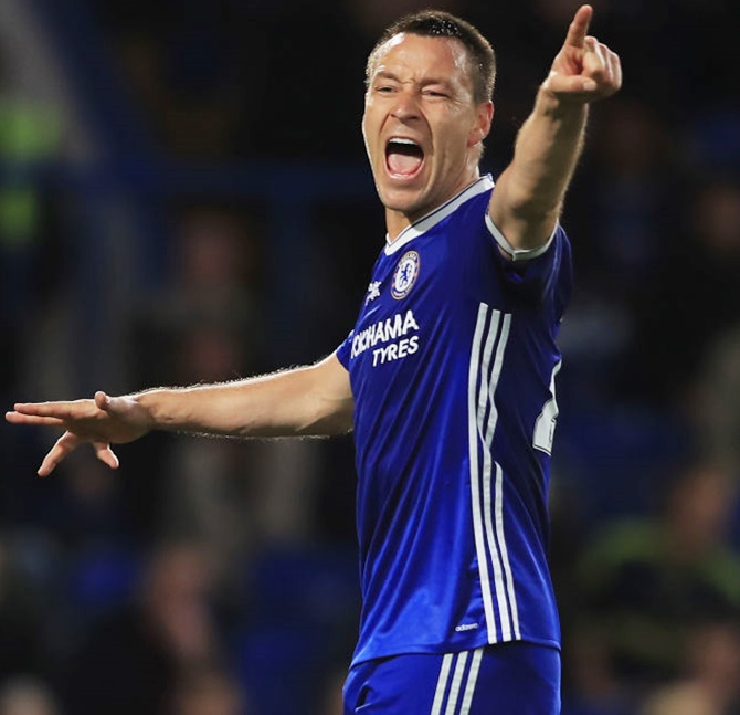 John Terry was without a club since leaving Villa last season