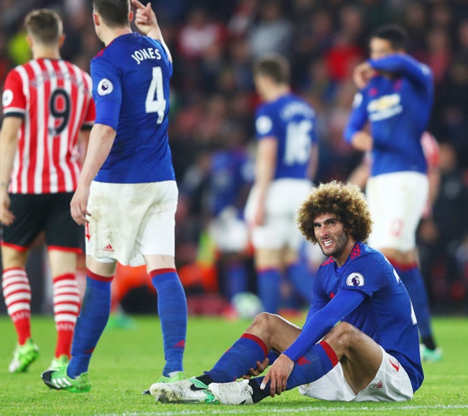 EPL: Man United held by Southampton in goalless stalemate