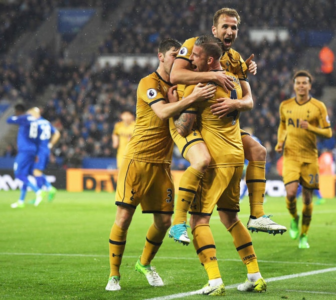 EPL: Four-goal Kane helps Spurs punish Leicester