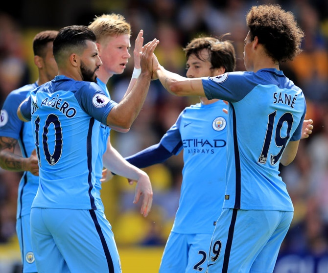 EPL PIX: City, Liverpool in Champions League; Arsenal victory in vain