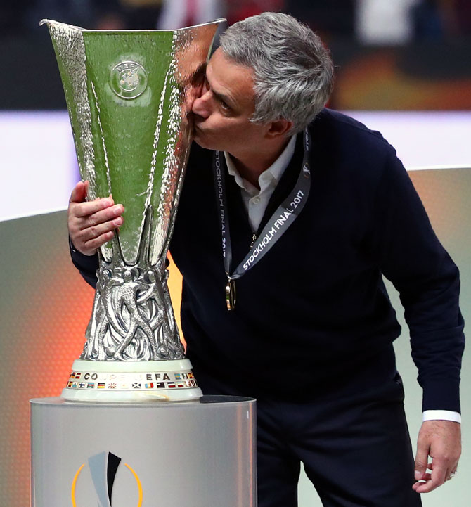 Rediff Sports - Cricket, Indian hockey, Tennis, Football, Chess, Golf - 'Poets don't win many titles,' Mourinho does!