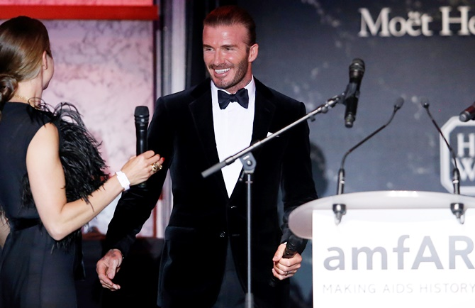Rediff Sports - Cricket, Indian hockey, Tennis, Football, Chess, Golf - Beckham sold for 350,000 euros