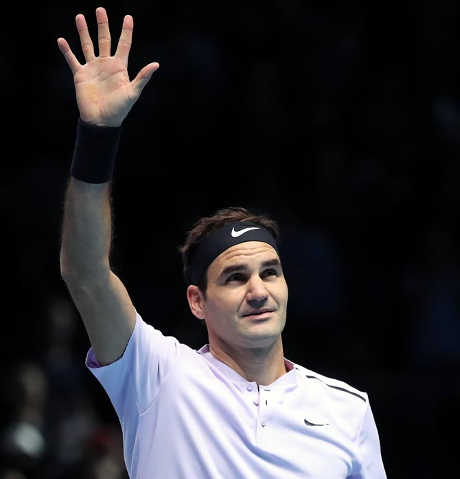 Rediff Sports - Cricket, Indian hockey, Tennis, Football, Chess, Golf - Federer has no regrets at finishing second to Nadal