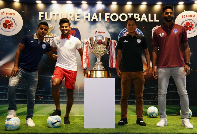 Rediff Sports - Cricket, Indian hockey, Tennis, Football, Chess, Golf - How ISL has fuelled the rise of Indian footballers