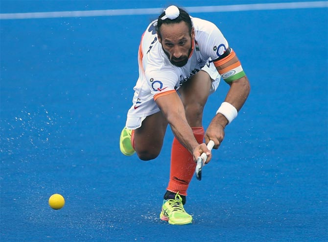 Rediff Sports - Cricket, Indian hockey, Tennis, Football, Chess, Golf - End of the road for former hockey captain Sardar?