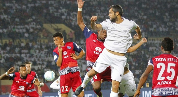 Rediff Sports - Cricket, Indian hockey, Tennis, Football, Chess, Golf - NEUFC vs Jamshedpur FC: Another goalless stalemate in ISL 4