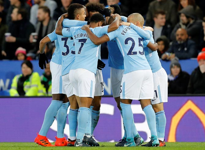 EPL PIX: Manchester clubs win again; Arsenal and Chelsea cruise
