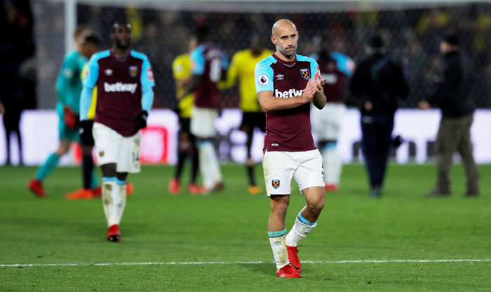 EPL: West Ham fail to play to strengths under Moyes