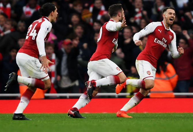 EPL: 'Arsenal can challenge Man City in title race'