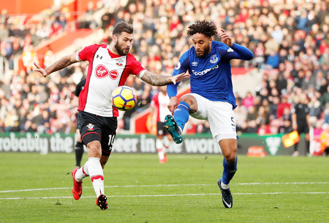 EPL: Austin double helps Southampton to win over Everton