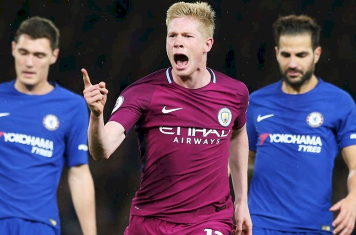 EPL: Manchester City stay ahead of United with win over Chelsea