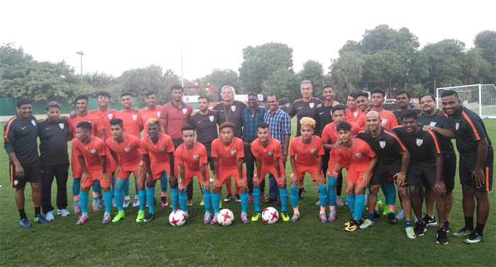 The Under-17 India football team