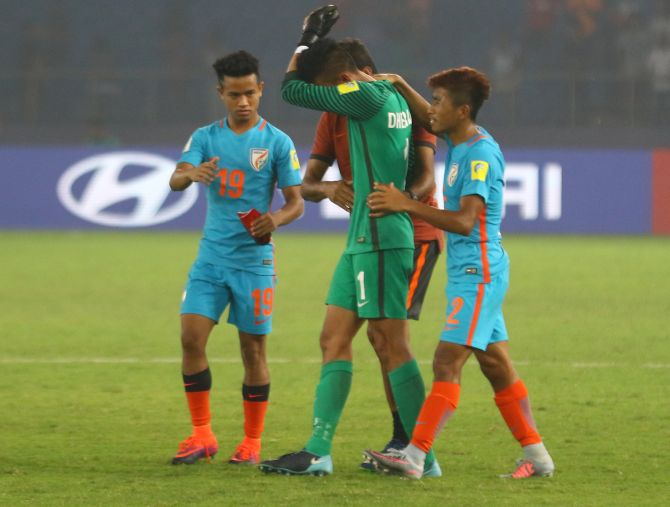 ea09365c783 How India s Under-17 World Cup campaign ended in agony - Rediff Sports