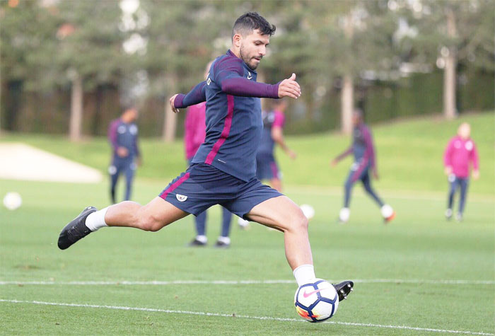 City striker Aguero ready for Burnley clash
