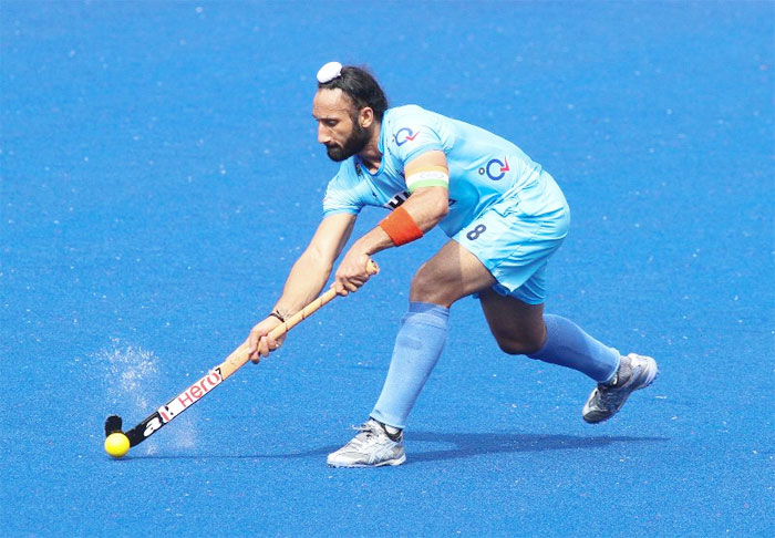 Sardar Singh converted a penalty corner to pump in India's 6th goal against Malaysia on Thursday