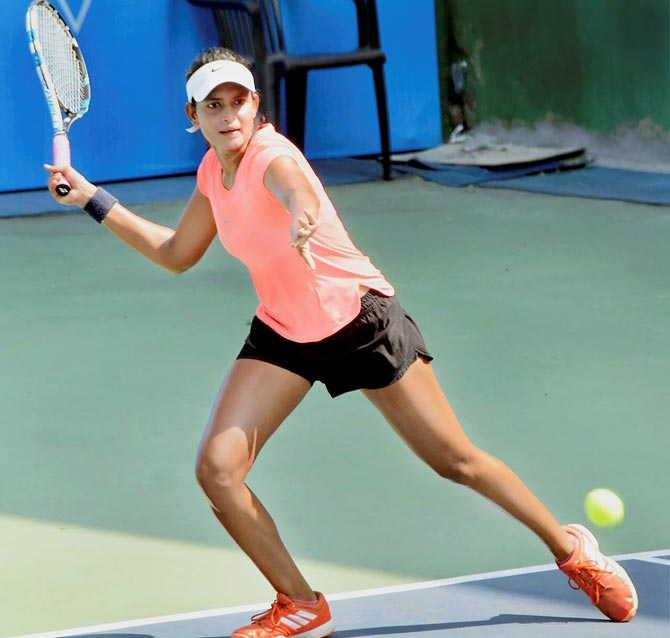 Rediff Cricket - Indian cricket - Young tennis star back to the courts against all odds