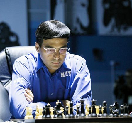Rediff Sports - Cricket, Indian hockey, Tennis, Football, Chess, Golf - Tata Steel Chess: Anand engages in marathon draw