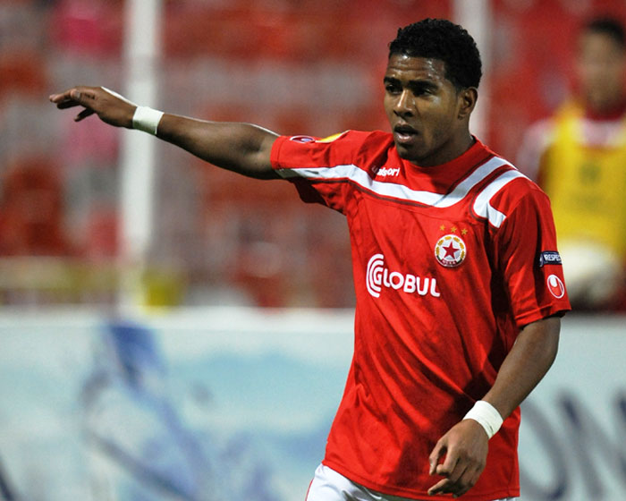 Gregory Nelson has played Europa matches in CSKA Sofia colours