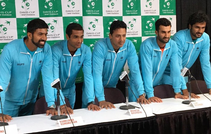 Rediff Sports - Cricket, Indian hockey, Tennis, Football, Chess, Golf - Davis Cup: Spain to host Britain; India gets bye in first round