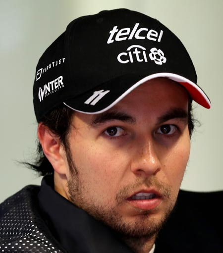 Rediff Sports - Cricket, Indian hockey, Tennis, Football, Chess, Golf - F1: Will Perez stay at Force India?