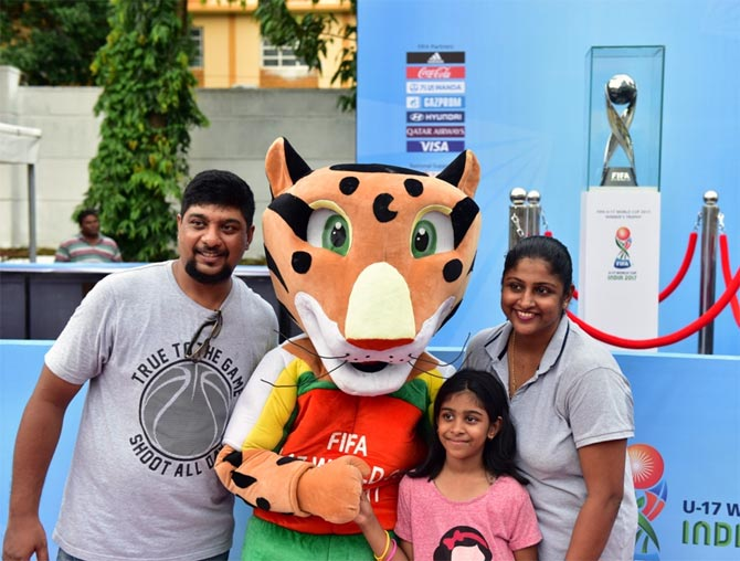 Rediff Sports - Cricket, Indian hockey, Tennis, Football, Chess, Golf - PHOTOS: World Cup fever hits Goa