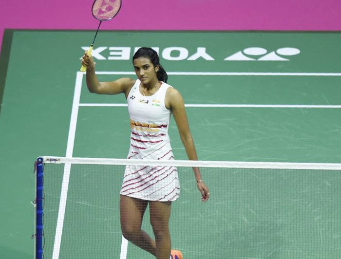Rediff Sports - Cricket, Indian hockey, Tennis, Football, Chess, Golf - Sindhu inches closer to Korea Super Series glory