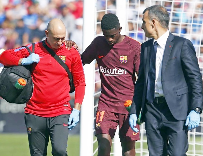 Rediff Sports - Cricket, Indian hockey, Tennis, Football, Chess, Golf - Dembele INJURED; Barca target Coutinho committed to Liverpool