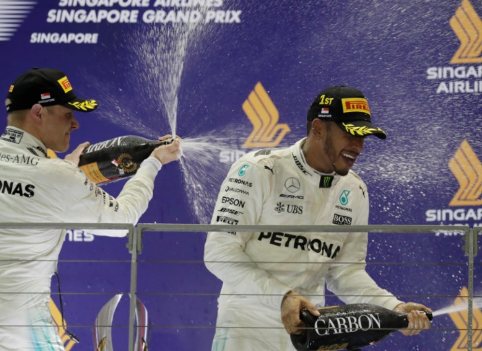 Rediff Sports - Cricket, Indian hockey, Tennis, Football, Chess, Golf - Is Hamilton close to winning fourth F1 title?
